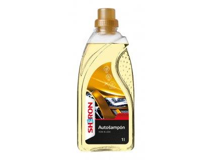 SHERON Autošampon lesk a vosk - 1 litr