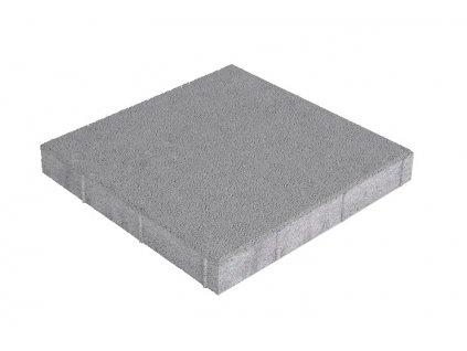 Dlažba plošná hladká Standard 30 x 30 x 4 cm - šedá