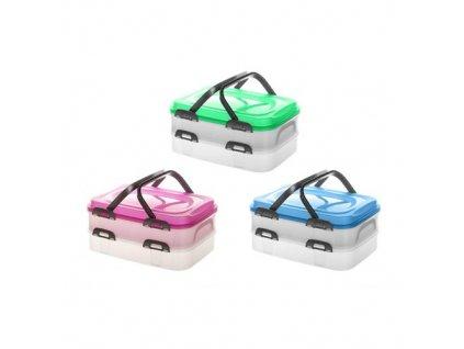 BANQUET Party box CULINARIA 2x 7 l s držadly, mix barev