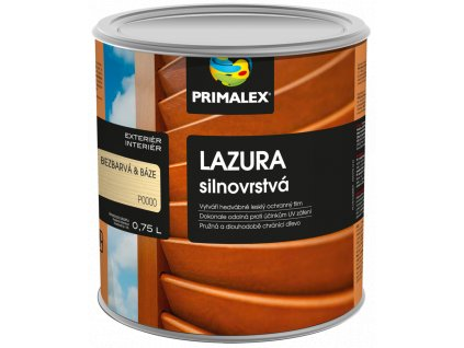 PRIMALEX - lazura silnovrstvá bezbarvá 0,75 l