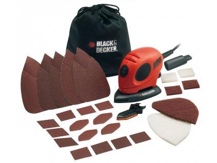 Black&Decker - Bruska Mouse KA161BC