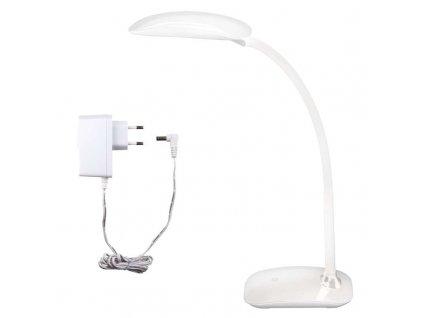 LED stolní lampa MA66-D bílá s USB