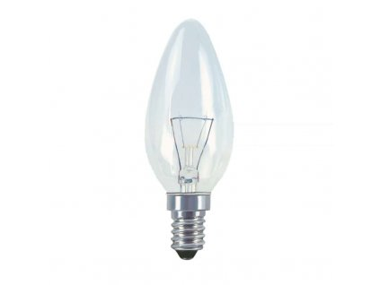 Žárovka otřesu vzdorná E14 40W teplá bílá