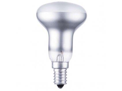 Žárovka otřesu vzdorná R50 60W E14 teplá bílá