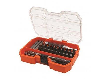 Black&Decker A7234 - 45 dílná sada vrtáků a nástavců