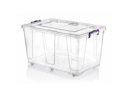 Úložný box MULTI 71x44x36cm s kolečky 80 litrů