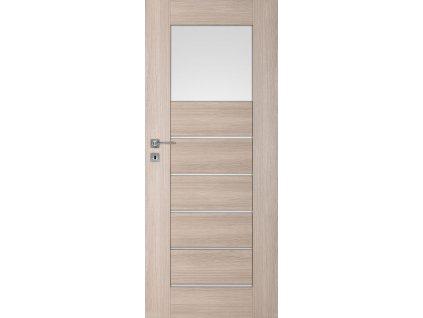 Interiérové dveře PREMIUM 1 - Dub bělený ryf