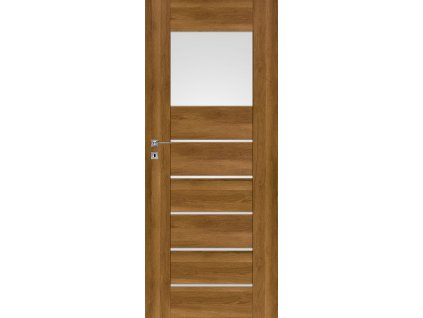 Interiérové dveře PREMIUM 1 - Dub Polský 3D