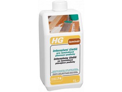 HG intenzivní čistič pro laminátové plovoucí podlahy