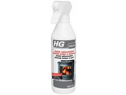 HG čistič skleněných dvířek krbů a kamen