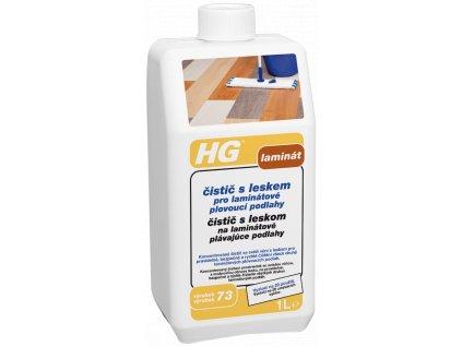 HG čistič s leskem pro laminátové plovoucí podlahy