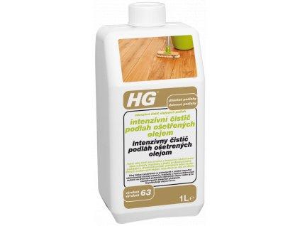 HG intenzivní čistič podlah ošetřených olejem
