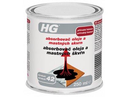 HG absorbovač oleje a mastných skvrn