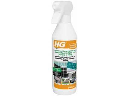 HG vodotěsná impregnace pro slunečníky, markýzy, krycí plachty a stany