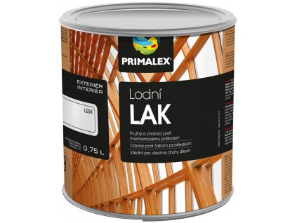 Primalex lodní lak - 0,75 l pololesk