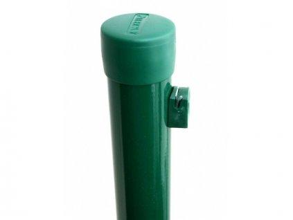 Plotový sloupek PILECKÝ PVC kulatý zelený 2100mm/48mm