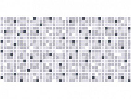 Panel obkladový 3D PVC D0018 - mozaika šedá /  93,5 x 46,9 cm
