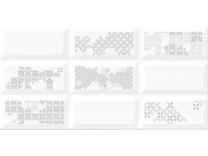 Cersanit NARIS INSERTO PATCHWORK dekor 29,7 x 60 cm