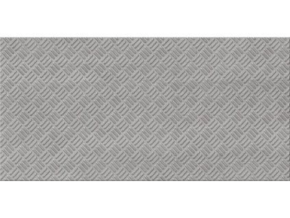Cersanit City grey inserto Metal  29,7 x 60 cm