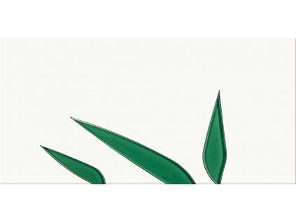 Cersanit NATURE GREEN INSERTO LEAFE 29,7 x 60 cm