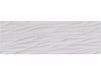 Opoczno STRUCTURE PATTERN GREY WAVE keramický obklad 25 x 75 cm