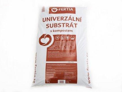 FERTIA Substrát univerzální s kompostem - 5l