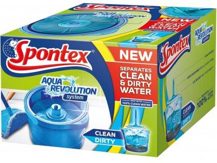 Podlahový mop Spontex Aqua Revolution System