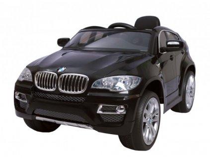 BMW X6 - BLACK - akumulátorové autíčko - vozítko
