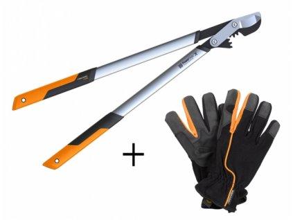 FISKARS Nůžky na silné větve LX98 (L) PowerGear™ - 1020188 SET