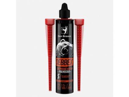 DEN BRAVEN chemická kotva bez STYRENU Debbex VINYLESTER 300 ml