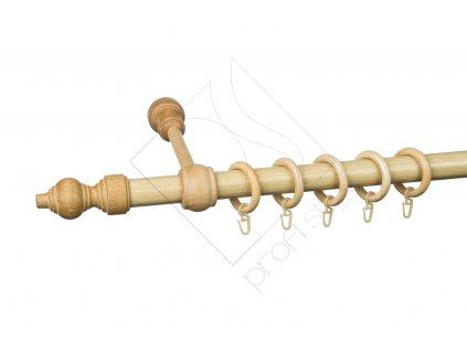 Karnisz drążkowy pojedynczy buk[1]
