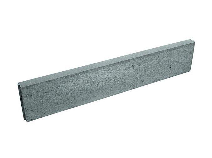 Obrubník zahradní betonový - 1m