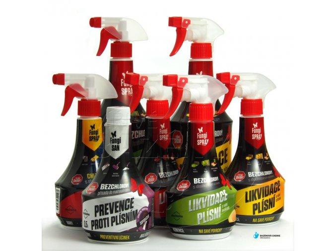 Fungispray bezchlórový přípravek proti plísni