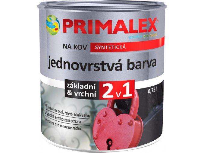 Primalex JEDNOVRSTVÁ BARVA 2v1 NA KOV