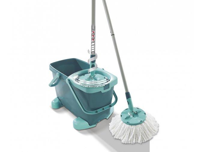 Podlahový mop Clean Twist Mop s vozíkem