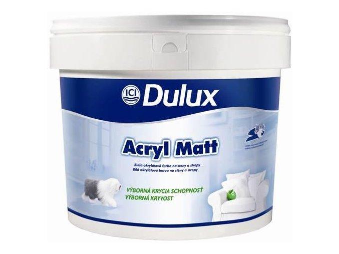 Dulux Acryl Matt White - 3l (4,5 kg)
