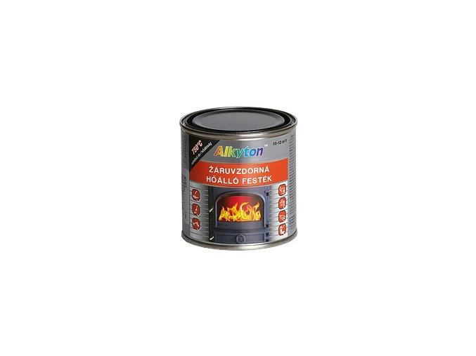 Žáruvzdorná barva Alkyton - 0,75 l