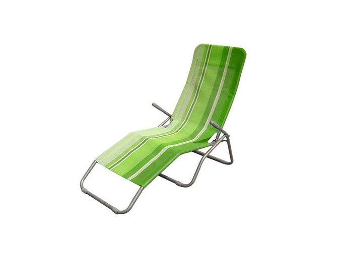 Plážové lehátko - Happy Green
