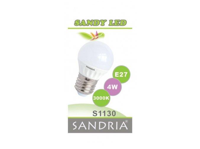 LED žárovka S1130 - E27, 4 W, 3000 K