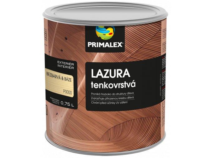 PRIMALEX - lazura tenkovrstvá bezbarvá