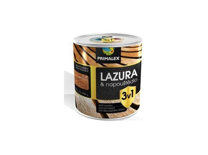 PRIMALEX LAZURA 3v1 - 2,5 litru
