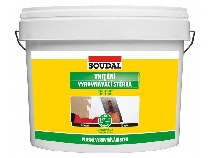 SOUDAL - vnitřní vyrovnávací stěrka - 4 kg