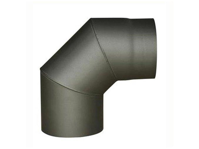 koleno kouřové 130mm/90st.t.1,5mm ANTR.