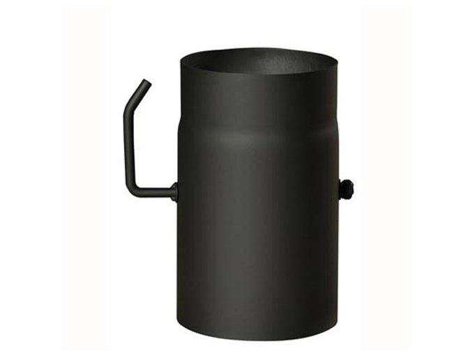roura kouřová s klap.180mm/250 t.1,5mm ČER
