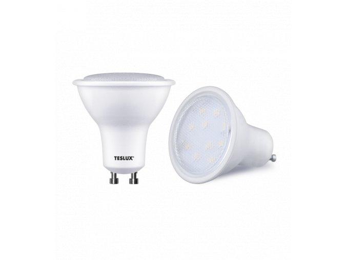 LED žárovka TESLUX - GU 10, 4 W,  280 lm