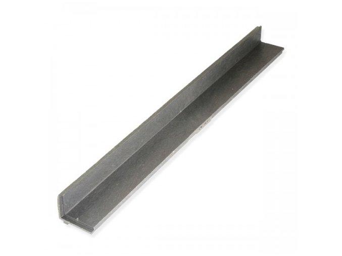 Plastový lemovací obrubník  - 110x115 / 1,2 m