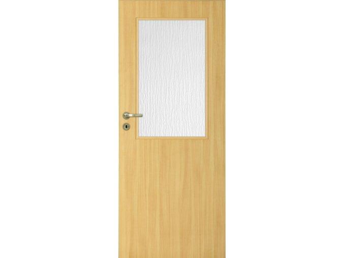Interiérové dveře LACK 30 - Dub (orientace Levá, šířka křídla 60cm)