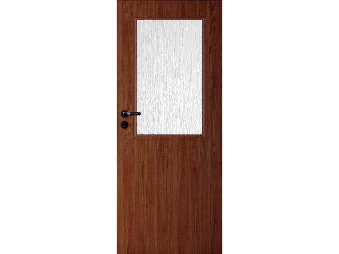 Interiérové dveře LACK 30 - Ořech (orientace Levá, šířka křídla 60cm)