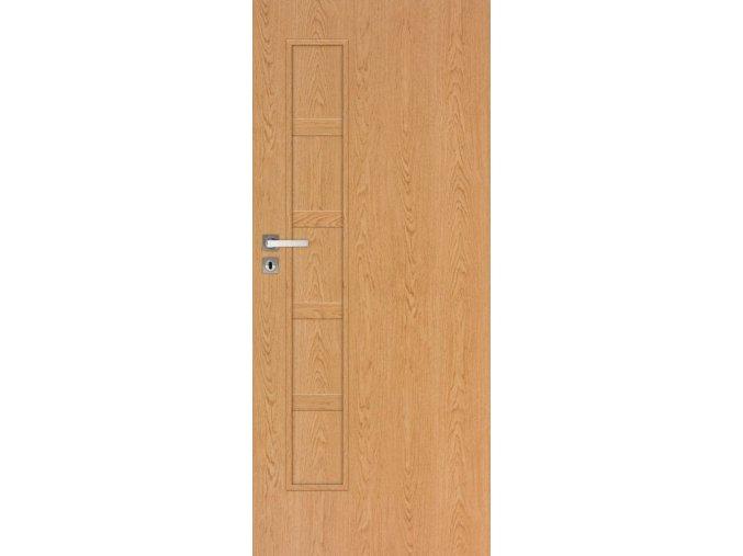 Interiérové dveře TOMO TOP 10 - Dub (orientace Levá, šířka křídla 60cm)
