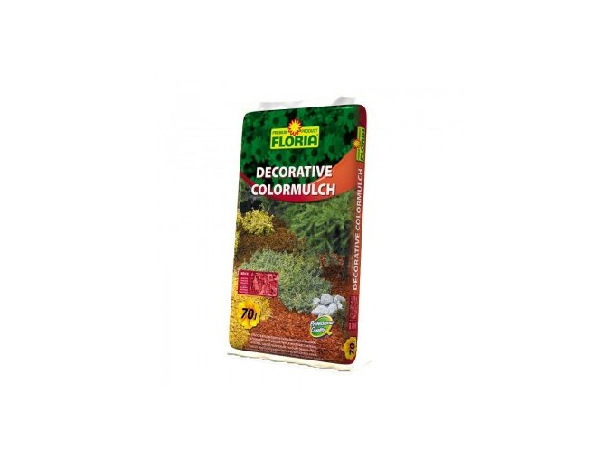 FLORIA Decorative ColorMulch CIHLOVÁ 70 L